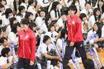「夢と感動をありがとう!」 -- 大阪国際大和田中学校と大阪国際滝井高等学校で、リオオリンピック選手報告会を開催