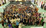 国際大学(IUJ)が9月29日に「新入生歓迎の日」を開催 -- 新入生は51カ国・地域で構成