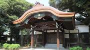 ⑤旧久邇宮邸本館玄関車寄.JPG