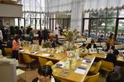 筑波学院大学図書館カフェ