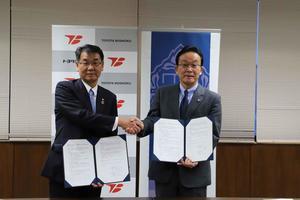金沢大学がトヨタ紡織株式会社と連携協定を締結 -- 近未来車の快適空間の実現をテーマに共同研究