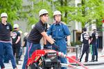 大阪経済法科大学の学生消防隊「SAFETY」が4月28日に消防訓練を実施 -- 大学生が防災活動に従事 地域と密接に連携した取り組み