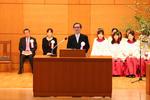東京女子大学が創立100周年記念式典を挙行