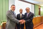 横浜美術大学と寺田倉庫及びイタリアの修復学校PALAZZO SPINELLI による、日本及びイタリアにおける文化遺産の保全・修復に関する三者間パートナーシップ協定締結について
