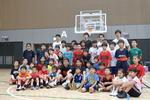 拓殖大学男子バスケットボール部  文京スポーツセンターリニューアル記念「スポーツ×ドイツホストタウンフェスティバル2018」に参加