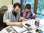大学生が企画から実行までを推進する「プロジェクトマネジメント」教育の一環として「Shodo Experience(書道エクスペリエンス)」を開催 -- 外国人観光客に「書道」をレクチャー -- 10月24日、31日、11月7日、14日(水)