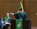 オックスフォード大学の名誉総長クリス・パッテン卿に青山学院大学名誉博士(国際政治学)の称号を授与