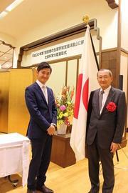 前原短期大学部学長と山田東京ボランティアセンター長.jpg