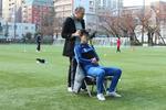 成蹊大学 理工学部 竹本研究室 東京武蔵野シティFC協力のもと、サッカー選手の視線を研究