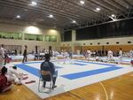 明海大学が千葉県の高校生男女110人による第2回空手道大会を開催(2月24日)