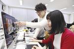 アニメーション制作を学ぶ中学生に和田淳准教授が魅力を紹介 -- 大手前大学