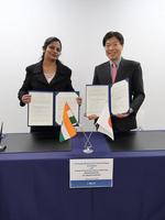 昭和大学歯学部とパンドゥ・メモリアル・RV歯科大学(インド)と歯学部間協定を締結しました