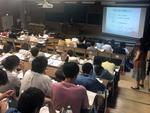 京都産業大学生命科学部の専門的な学びを、どのようにキャリアに結びつけるかを学ぶ「第1回サイエンスキャリアアップセミナー」を開催