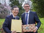 江戸川大学とマッセイ大学の提携30周年記念セレモニーを開催 -- マオリ式歓迎レセプション