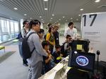 プロジェクトで開発したポータブル3D上映システムをサイエンスアゴラ2019に出展