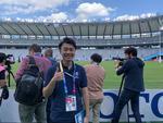 神田外語大学の学生がラグビーワールドカップ(TM)2019日本大会で、ボランティアとして言語サービス、メディア対応、ファンゾーンでの来場客誘導などさまざまな場面で活躍しました