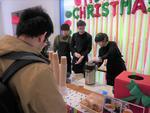 札幌学院大学 国際交流×フェアトレード×コラボレーションセンター「クリスマスイベント」を開催 -- フェアトレード商品で調理したカレーやコーヒーで盛り上がりました --