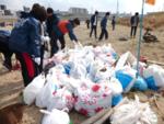 ◆関西大学生ら500人が大和川を大掃除◆SDGsの目標も意識し、大人数で河川の美化を目指す