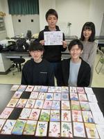 関西学院大学 教育学部の学生が「SDGsかるた」を制作中~日常生活で具体的な行動につなげるために