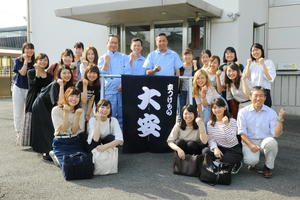 大阪樟蔭女子大学 健康栄養学部の管理栄養士・栄養士を目指す学生と株式会社大安が新商品を企画・販売