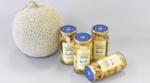 「なら近大農法」で栽培した三郷町のどか村産メロンの摘果をピクルスとして商品化し限定販売