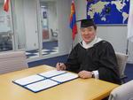 城西国際大学が新モンゴル日馬富士学園と学術交流協定を締結