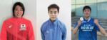 東京オリンピック・パラリンピック 水泳日本代表 難波 実夢・西田 玲雄・南井 瑛翔が東大阪市長を表敬訪問
