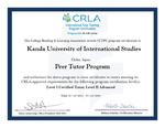 神田外語大学が上級チューター育成プログラム実施機関として認定されました ~日本の大学では2校目~