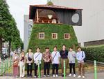 工学院大学建築学部生が、藤森照信特任教授の設計による茶室「五庵」の制作プロジェクトに参画 -- 新国立競技場周辺で9月5日まで開催の「パビリオン・トウキョウ2021」で公開中