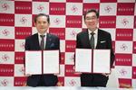 女子聖学院中高と東京女子大学が高大連携協定を締結。9月9日(木)、調印式が行われました。