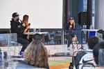 東京五輪金メダリスト(スケートボード・パーク)の四十住さくらさんが登壇 「コロナ禍におけるアスリート活動」についての講演会とスケートボードセッションを開催