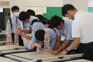 崇城大学が10月30・31日に第10回「つまようじタワー耐震コンテスト」高校生大会を開催 -- 新型コロナウイルス感染拡大防止対策を講じて2年ぶりの開催