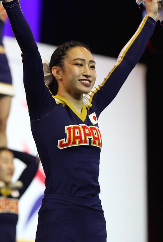 帝京平成大学の学生が「2019 World Cheerleading Championships」に日本代表として出場