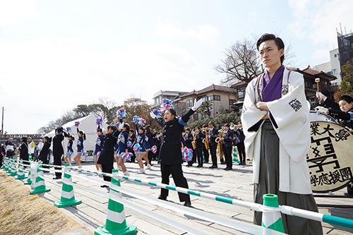 オール京都産業大学で「京都マラソン2019」を応援!