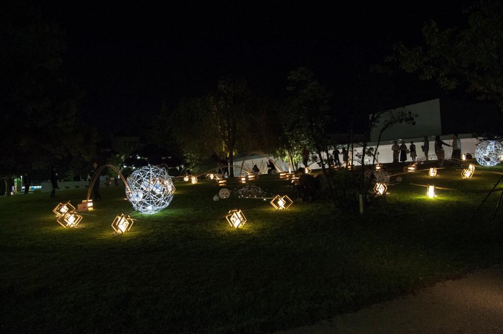 学生手作りのあかりのオブジェが金沢の秋を彩る「金澤月見光路2019」開催