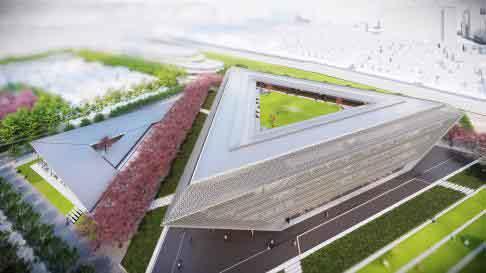 追手門学院大学が9月29日にMazda Zoom-Zoomスタジアム広島の設計士らによるトークセッションを開催  -- 来春開設予定の新キャンパスを建築芸術で語る