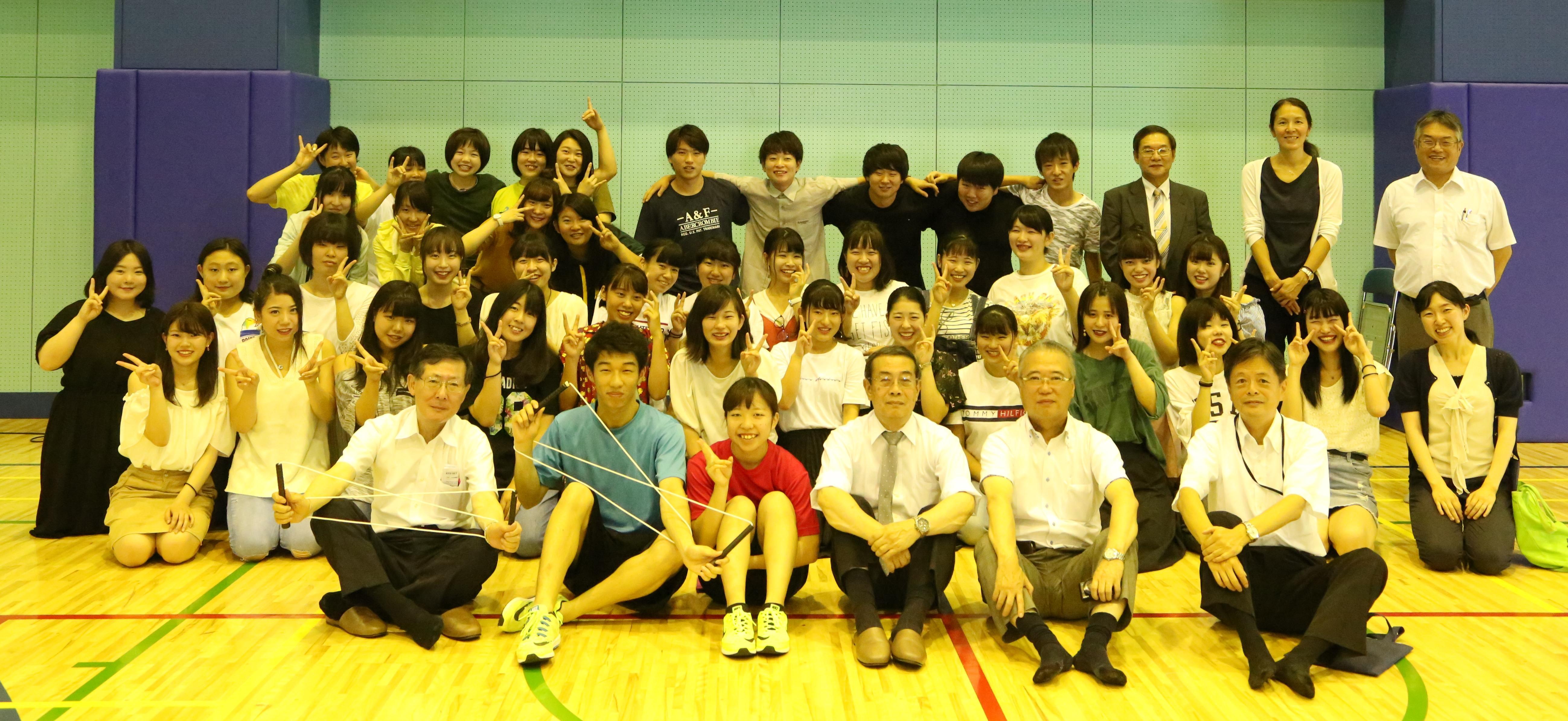 江戸川大学こどもコミュニケーション学科の学生がロープスキッピング世界大会に日本代表として出場