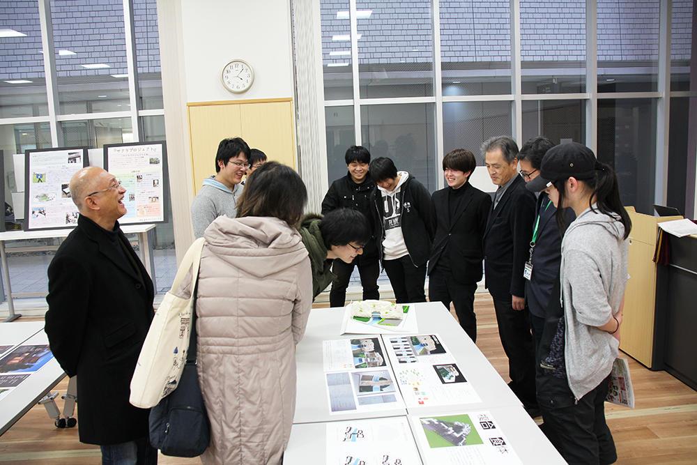 大阪電気通信大学工学部建築学科の学生が「なにわ建築フェスタ2019」に参加しました