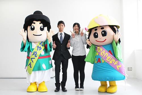 大阪電気通信大学の学生が制作!寝屋川市のマスコットキャラクターの「LINEスタンプ」完成