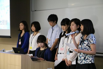 学生の視点で企業の経営、社会貢献を調査【学部横断で作成した「CSR報告書」を最終報告】-- 7月15日(土)13時~最終報告会 於:武蔵大学