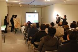 東洋大学の学生が「志木地域のまちづくり提案展」を開催