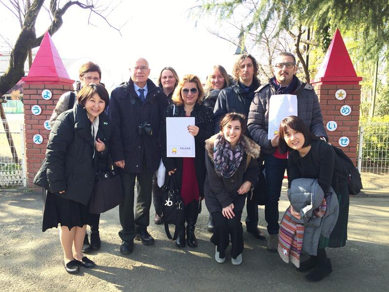 明星幼稚園の先進的な英語教育視察のため、イタリア リモーネ・スル・ガルダ市の英語教育視察団が来日 -- 「英語教育×国際教育」で世界に目を向ける教育を推進 -- 明星幼稚園