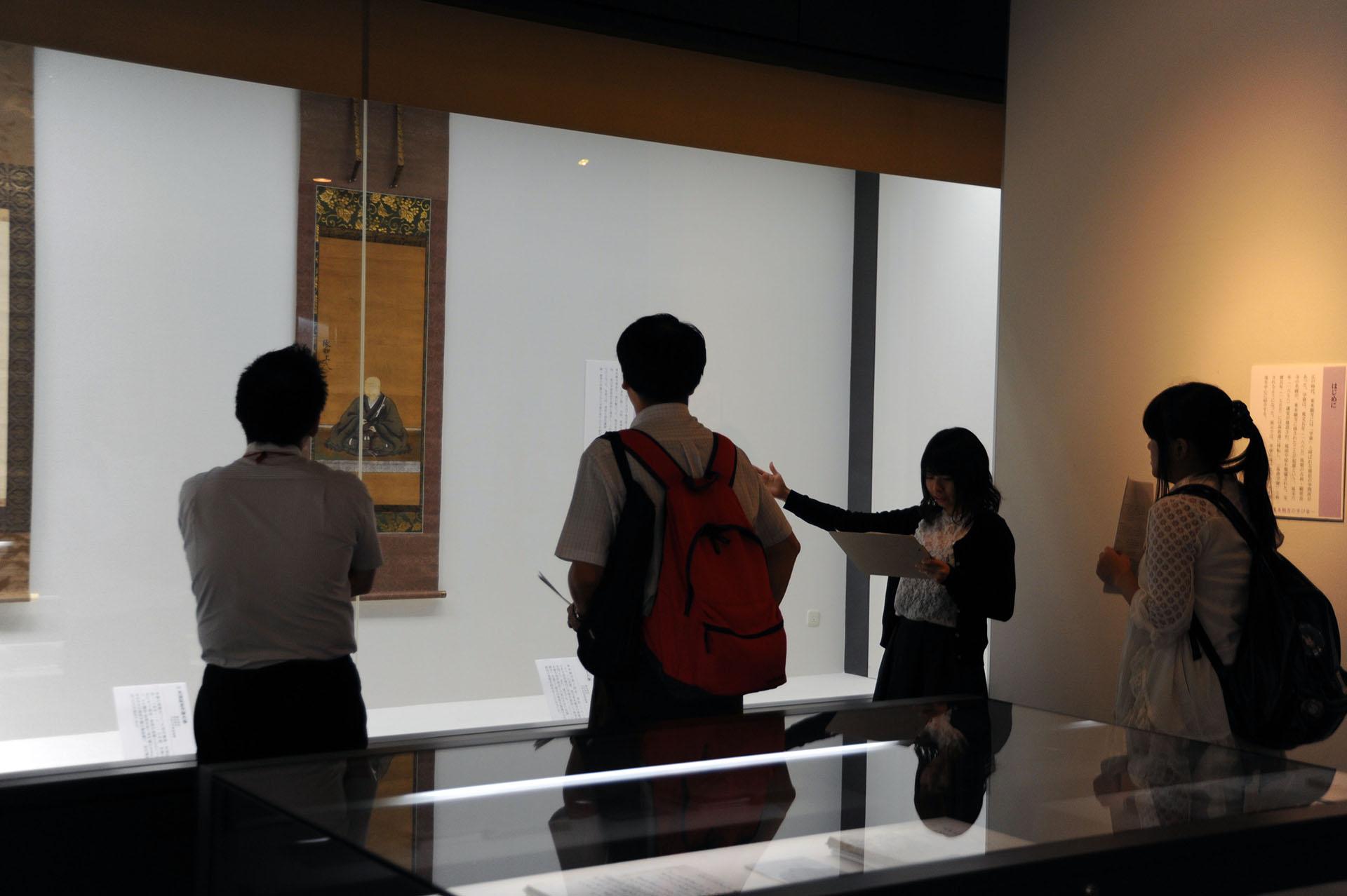 真宗・仏教文化財の保管、調査研究、普及を目指す大谷大学博物館 -- 企画力、分析力など社会に通用する力を養成する「実習生展」を開催
