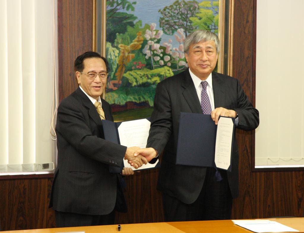 徳島大学と北里大学が2月15日に「包括協定・覚書」を締結