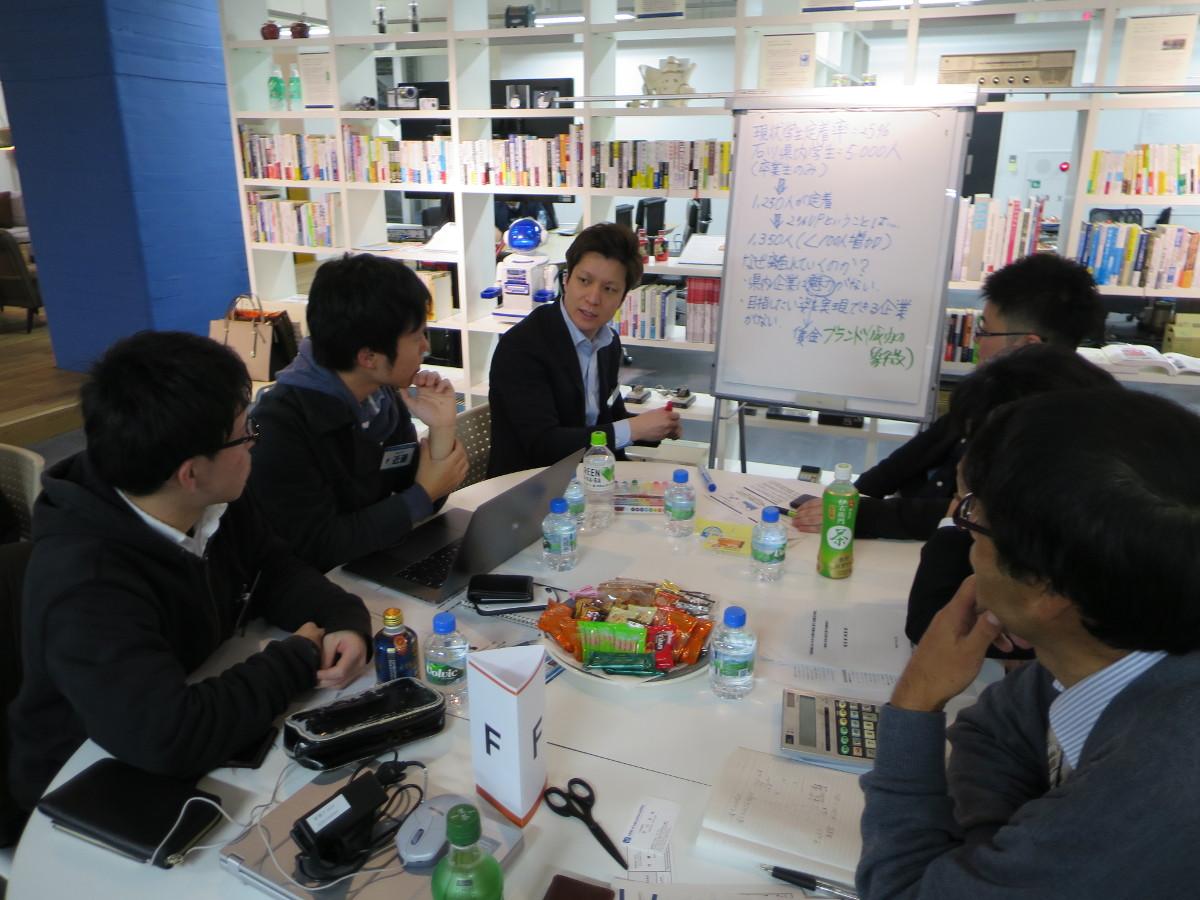 北國銀行×金沢工業大学 連携事業 -- リーダーシップ力養成プログラム「地元企業の新しい価値づくり」成果報告会を開催