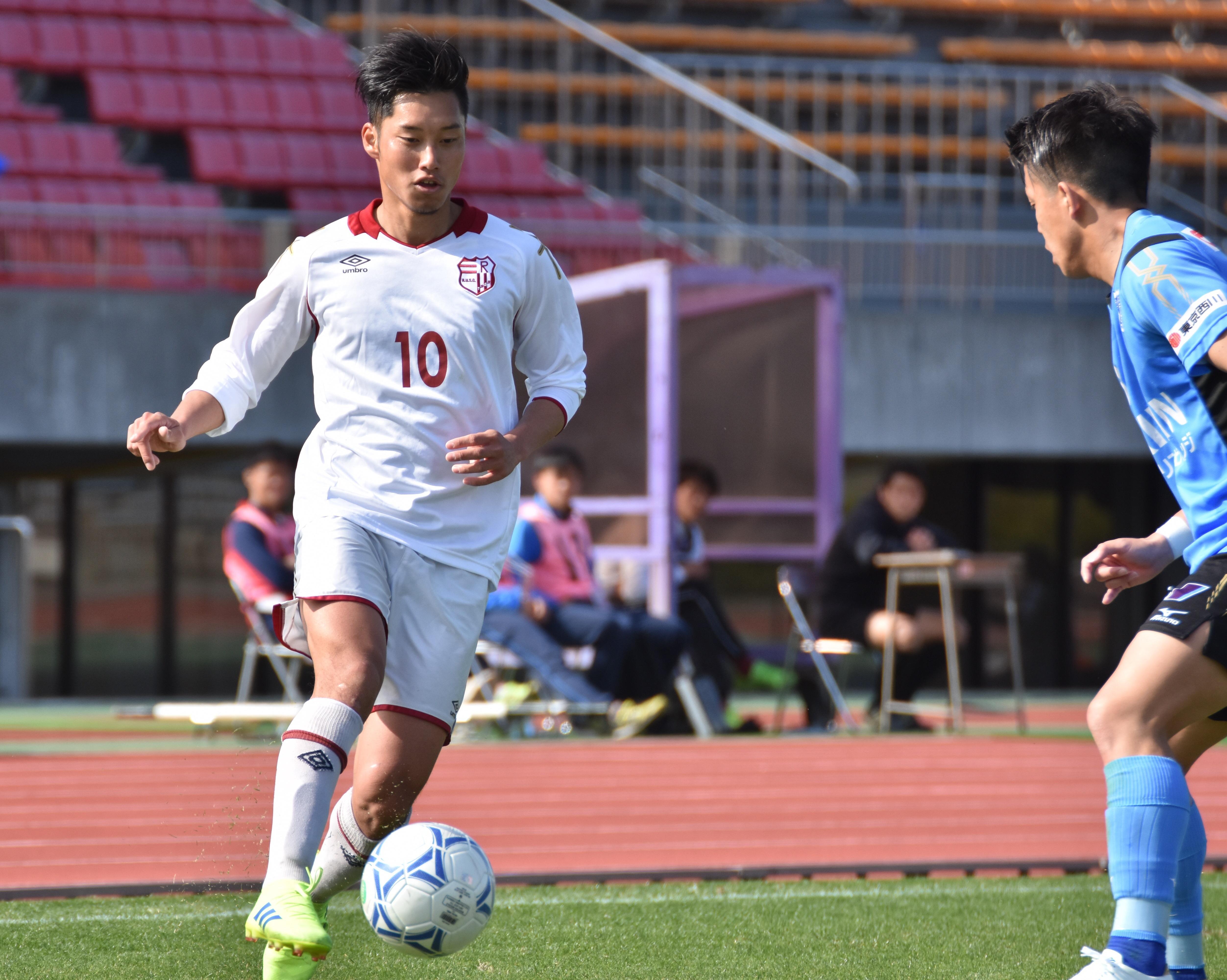 立命館大学体育会サッカー部からJリーガーが誕生 竹本 雄飛さんがJリーグ・ロアッソ熊本に入団内定 --立命館大学