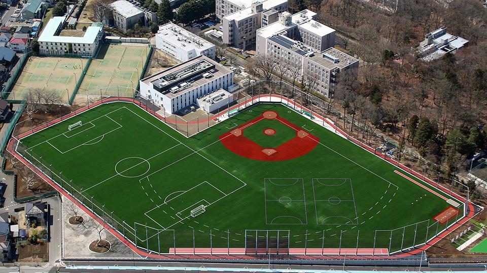 芝浦工業大学 -- 大宮キャンパス総合グラウンドが完成、3月30日に竣工式を実施 ~充実した授業、課外活動で文武両道を実現し人間力の向上を