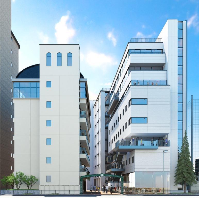 「学園創立75周年(2021年)に向けて進化する大手前学園」 -- 大手前大学は2019年 新学部(看護)の開設を計画 大手前短期大学は西宮へ移転 新学舎を建築予定