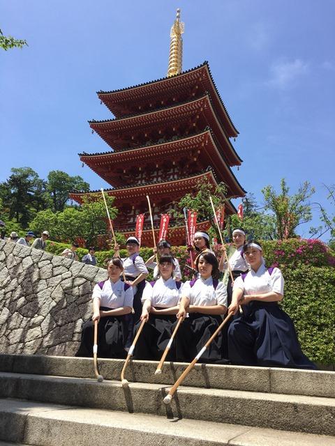 実践女子大学 なぎなた部 Tokyo2020学園祭に参加 -- 東京オリンピック・パラリンピック大会組織委員会 大学連携'17