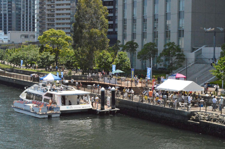 芝浦工業大学 -- 豊洲運河でカフェ&クルーズを行う「夏の船カフェ」を6月30日から3日間開催 ~地域とともに 豊洲の豊かな水辺空間をプロデュース